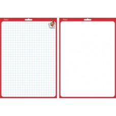 Доска Hatber для рисования и заметок двухсторонняя 240*340 мм с маркером SMn_04010