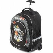 Рюкзак на колесиках Hatber Angry Birds, на колесиках (2 рюкзака), размер 34х18х46 NRk_00198