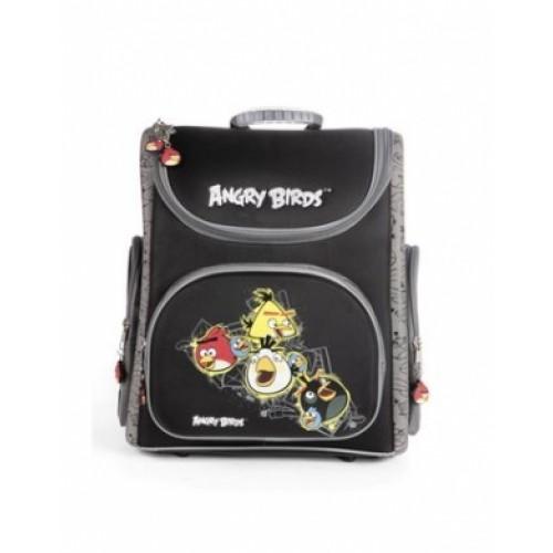 Рюкзак повседневный Hatber 38х28х18см COMPACT жесткая форма раскладной-ANGRY BIRDS-NRk_00394