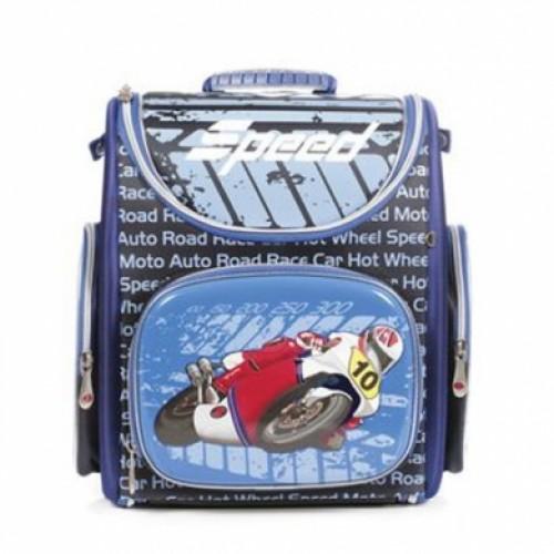 Рюкзак повседневный Hatber 38х28х18см COMPACT жесткая форма раскладной--Speed-NRk_00397