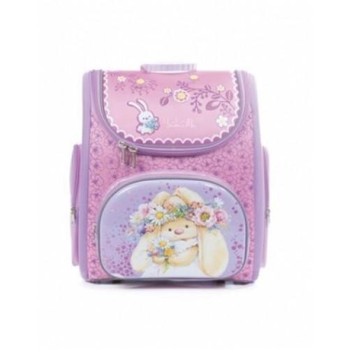 Рюкзак повседневный Hatber 38х28х18см COMPACT жесткая форма раскладной-Зайка Ми-NRk_00400