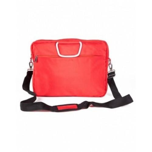 Сумка Hatber 29х36х8см с отделением для ноутбука-Business Lady-- Красная NSn_00331