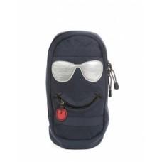 Рюкзак-Сумка Hatber 35х18х7см с одной лямкой-SMILE- Темно-синий NRk_00329