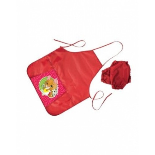 Фартук для Труда Hatber с карманом -KITTEN-NFn_10662