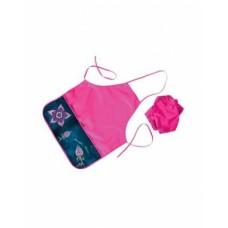 Фартук для Труда Hatber с двумя карманами-Flower-NFn_20639