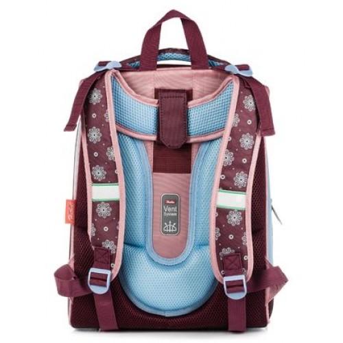 Рюкзак Hatber ERGONOMIC-Пушистый котенок- 37X29X17 СМ EVA материал светоотраж. 2 отделения NRk_15007