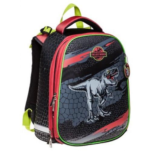 Рюкзак Hatber ERGONOMIC -Мир динозавров- 37X29X17 СМ EVA материал светоотраж. 2 отделения NRk_15012