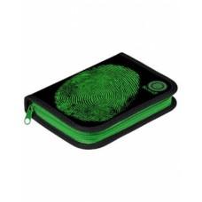 Пенал Hatber 190х130мм 1 отделение на молнии-Security-NPn_17072