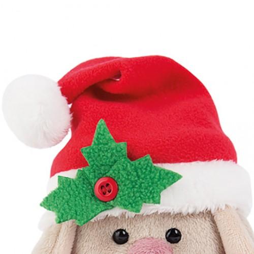 Игрушка  Зайка Ми  в красном колпачке и шарфе (малыш) SidX - 160