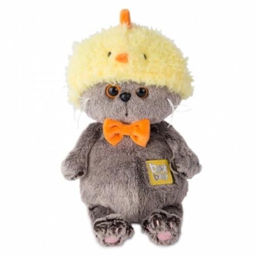 Игрушка  Басик BABY в шапке-цыплёнок BB-013