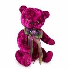 """Игрушка  """"Медведь БернАрт-пурпурный""""BAp-40"""
