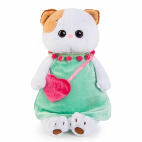 Игрушка  Ли-Ли в мятном платье с розовой сумочкой LK24-005