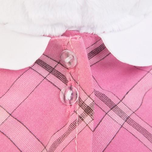 Игрушка  Ли-Ли в розовом платье с серой сумочкой LK24-007