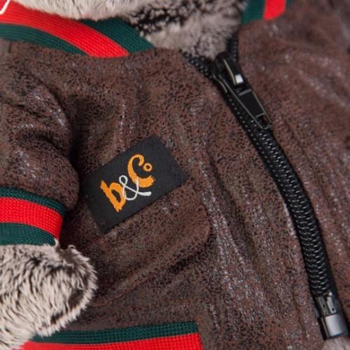Игрушка  Басик в кожаной куртке Ks22-059