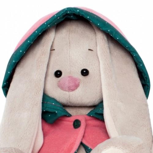 """Игрушка  """"Зайка Ми"""" в куртке с капюшоном (малая) SidS-072"""