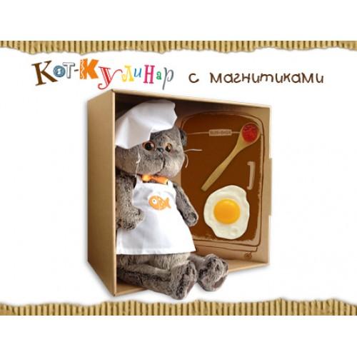 Игрушка  Басик - шеф-повар Ks19-021