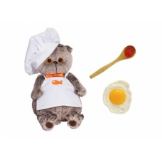 Игрушка мягконабивная Басик - шеф-повар Ks30-021