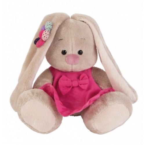 Игрушка  Зайка Ми  в розовом сарафанчике и ромашкой на ушке(малыш) SidX - 144