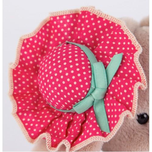 Игрушка  Зайка Ми  в розовой шляпке(малыш) SidX - 145