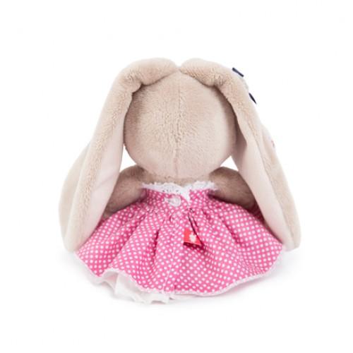 Игрушка  Зайка Ми  в розовой юбочке и с вишней(малыш) SidX - 167
