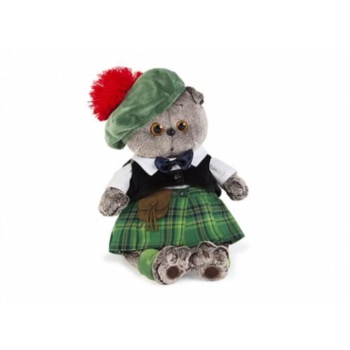 Игрушка  Басик в шотландском костюме Ks25-047
