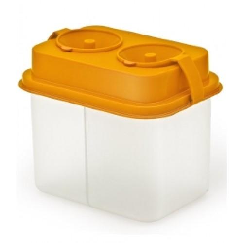 Стакан-непроливайка двойной Премиум оранжевый СН451