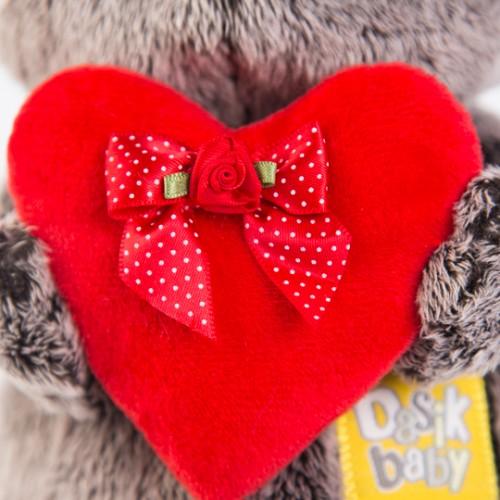 Игрушка  Басик BABY с красным сердечком BB-016