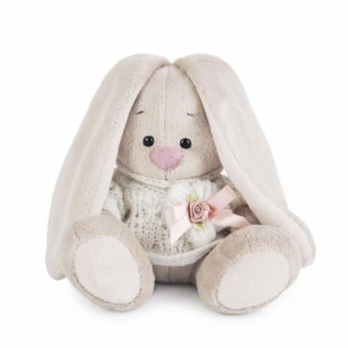 Игрушка  Зайка Ми  в вязаном свитере (малыш) SidX - 192