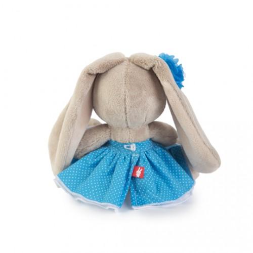 Игрушка  Зайка Ми  в голубом сарафанчике (малыш) SidX - 188