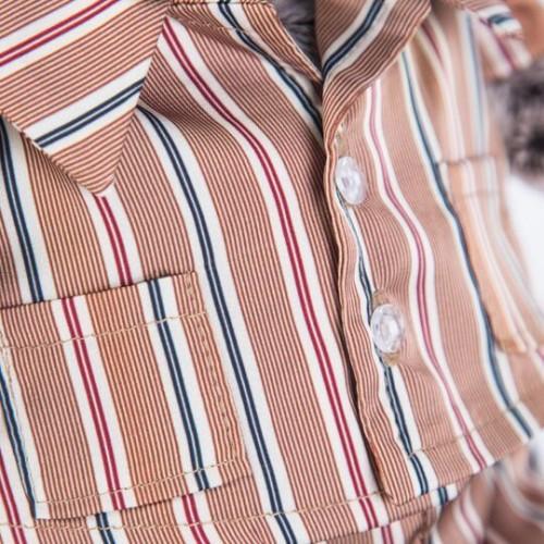 Игрушка  Басик в шелковой пижамке Ks25-065