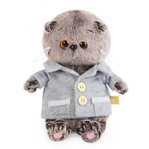 Игрушка  Басик BABY в сером пиджачке BB-021