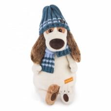 Игрушка  Бартоломей в голубой шапке и шарфе Bart27-008
