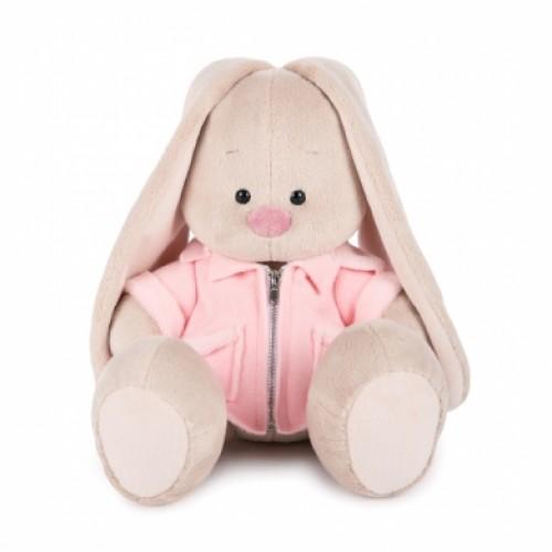 """Игрушка  """"Зайка Ми"""" в розовой меховой курточке (большая) SidM-209"""