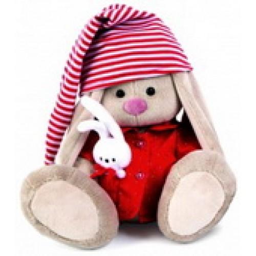 Игрушка  Зайка Ми в красной пижаме (большой) SidM-158