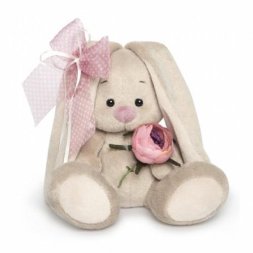 Игрушка  Зайка Ми  с винтажной розой (малыш) SidX -225