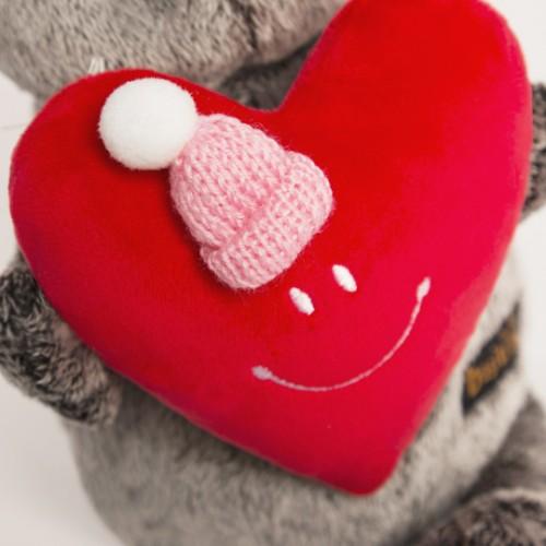Игрушка  Басик с сердечком Ks25-081