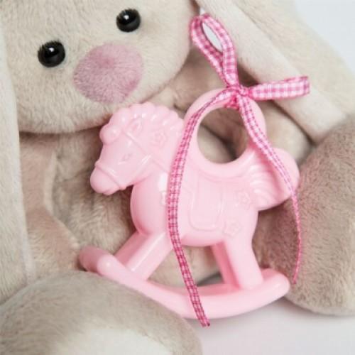 Игрушка  Зайка Ми с розовой лошадкой  (малыш) SidX-229