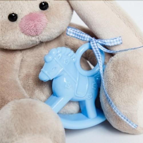 Игрушка  Зайка Ми с голубой  лошадкой (малыш) SidX-230