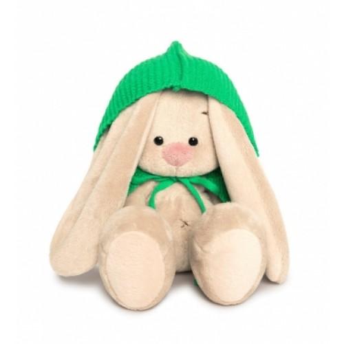 Игрушка  Зайка Ми в зеленом пончо (малыш) SidX-248