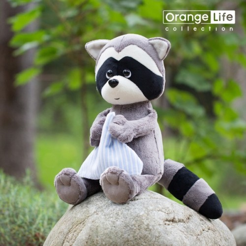 Игрушка  *Life  Енотик Дэнни с полотенцем 20 OS616/20