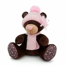 Игрушка  Milk сидячая в розовой шапке 30 М5055/30