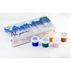 Акриловые краски худож. АКВА-КОЛОР набор  18 цв. по 20 мл, 360 мл,  картонная коробка  арт.К4826
