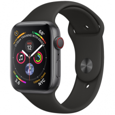 Умные часы Apple Watch Series 4 GPS, 40mm Space Grey Aluminium Case with Black Sport Band, Model A1977