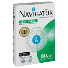 Бумага офисная Navigator universall класс A, А4 пл.80г/м2 500л, РФ