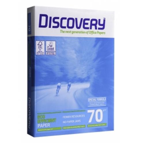Бумага А4 офисная Discovery 70 г/м2, 500 л
