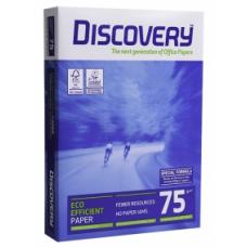 Бумага А4 офисная Discovery 75 г/м2, 500 л