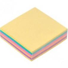 Блоки с самоклеящейся полосой. ф.75х75. цветная,100л