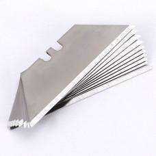 Лезвия для макетного ножа 10шт./уп. черн. экстра DELI E78001