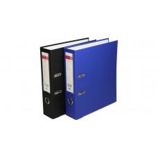 Папка-регистратор, 75мм синий Deli EB20130