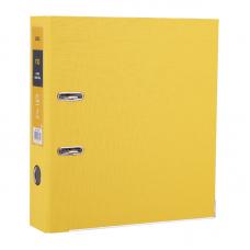 Папка-регистратор, 75мм желтый Deli EB20150